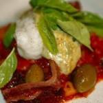 Saltfiskur með kryddi,lauk og tómatmauki –  – 5 persónur