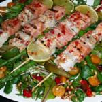 Fiskspett med Italienskt smör –  – 4 personer