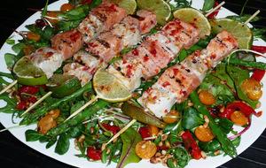 Fiskspett med Italienskt smör -  - 4 personer