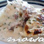 Kokt torskfilé med bacon och ärtpuré – 20 min  – 4 potioner