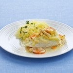 Cod or Haddock fillets Provencale – 30 min –