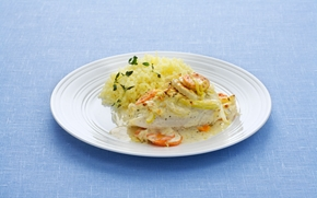 Cod or Haddock fillets Provencale - 30 min -